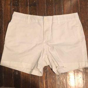 Gap white shorts